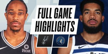 SPURS at TIMBERWOLVES   FULL GAME HIGHLIGHTS   January 9, 2021