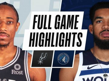 SPURS at TIMBERWOLVES | FULL GAME HIGHLIGHTS | January 9, 2021
