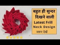 Easy Neck Design Cutting and Stitching For Kurti/Suit | Neck Design 20