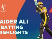 Haider Ali Batting Highlights | Quetta Gladiators vs Peshawar Zalmi | Match 8 | HBL PSL 6 | MG2T