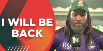 I Will Be Back | Chris Gayle Interview | HBL PSL 6 | MG2T