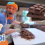 Blippi Visits A Chocolate Factory | Educational Videos For Kids 4