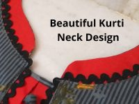 Beautiful Kurti Front Neck Design Easy Cutting and Stitching/Potli Buttons/Placket 20