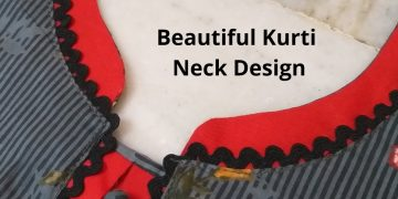 Beautiful Kurti Front Neck Design Easy Cutting and Stitching/Potli Buttons/Placket 4