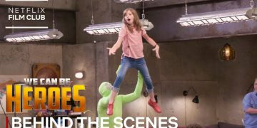 "Making Of ""Meet The Super Kids"" Scene 