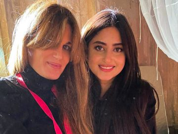 Jemima Khan shares glimpses from shoot with Sajal Ali on Tuesday, 17