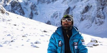 Muhammad Ali Sadpara, the first Pakistani mountaineer to scale eight 8000M peaks in the world. 5