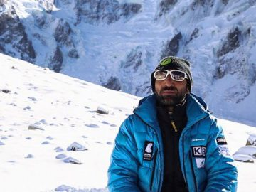 Muhammad Ali Sadpara, the first Pakistani mountaineer to scale eight 8000M peaks in the world. 13