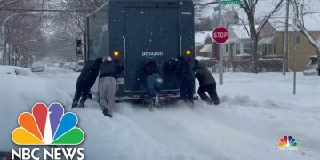 Monster Winter Storm Moves East | NBC Nightly News