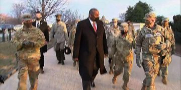 Austin to Nat'l Guard: Defense Dept. is behind you