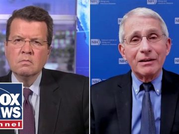 Neil Cavuto presses Fauci on his recent 'double masking' statements