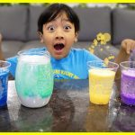 Easy DIY Science Experiment for Kids Rainbow Snowstorm in a Jar!!! 1