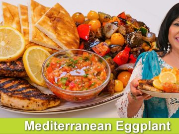 Mediterranean Platter Recipe in Urdu Hindi - RKK