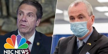 New York Gov. Cuomo, New Jersey Gov. Murphy Hold News Conference | NBC News
