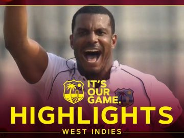 Cornwall Takes 5 As Game Hangs In Balance! | Bangladesh v West Indies Day 3 2nd Test - Highlights