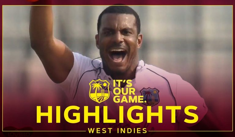 Cornwall Takes 5 As Game Hangs In Balance! | Bangladesh v West Indies Day 3 2nd Test – Highlights