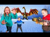 How to Train Your Dragon and Find Gold Treasure in the Hidden World In Real Life! 8