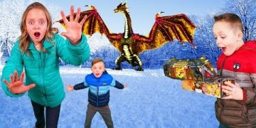 How to Train Your Dragon and Find Gold Treasure in the Hidden World In Real Life! 7