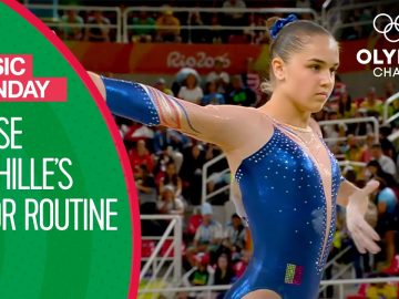 "Louise Vanhille's Rio 2016 Dynamic Floor Routine to ""Unstoppable"" 