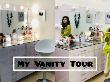 My Vanity Tour || Makeup & Jewellery Collection 12