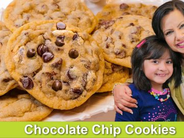 Zoey's Favorite! Fry Pan & Oven Chocolate Chips Cookies Recipe in Urdu Hindi RKK