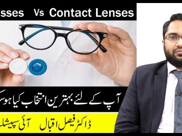 Glasses Vs Contact Lenses, Which One Is Best Choice For You