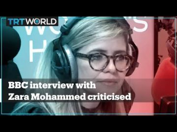 BBC interview with Zara Mohammed criticised