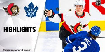 Senators @ Maple Leafs 2/17/21 | NHL Highlights