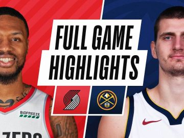 TRAIL BLAZERS at NUGGETS | FULL GAME HIGHLIGHTS | February 23, 2021
