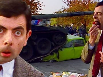 TANK Trouble | Mr Bean Full Episodes | Mr Bean Official