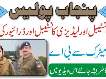 Police Constable Jobs | Sub Inspector Jobs | Police Department Jobs | Govt Jobs 2021 | Say Job City