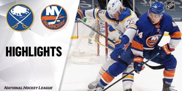 Sabres @ Islanders 2/22/21 | NHL Highlights