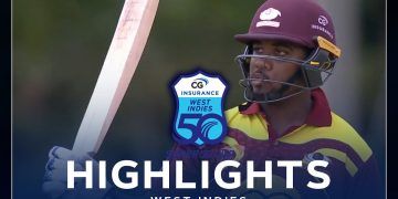 Highlights | Leeward Islands vs Guyana | Johnson Leads With Super Century | CG Insurance Super50 Cup