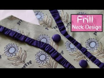 New Kurti Front Neck Design || Neck Design || Easy Cutting and Stitching @RR Fashion Point 1