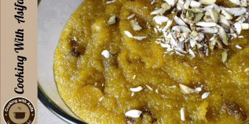 Suji ka halwa | سوجی کا حلوہ. | sooji ka halwa by Cooking with Asifa
