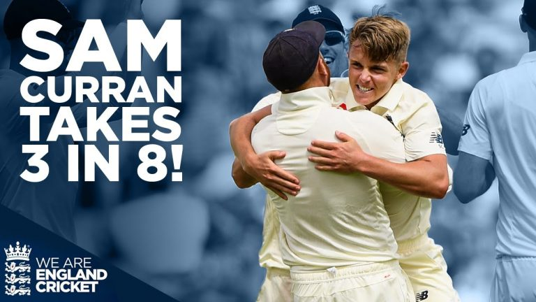 Sam Curran Shines Taking 3 in 8! | Greatest Moments - England v India