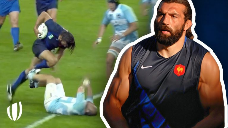 Do NOT get in his way! Sebastien Chabal - The UNSTOPPABLE Caveman