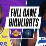 LAKERS at TIMBERWOLVES   FULL GAME HIGHLIGHTS   February 16, 2021