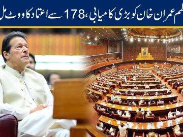 National Assembly Session | PM Imran Khan Wins Vote Of Confidence
