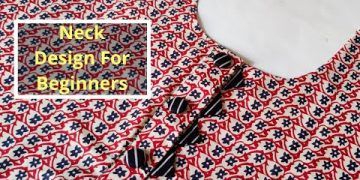 Very Easy Neck Design For Suit/Kurti Cutting and Stitching    Neck Design@CNN Kitchen 10