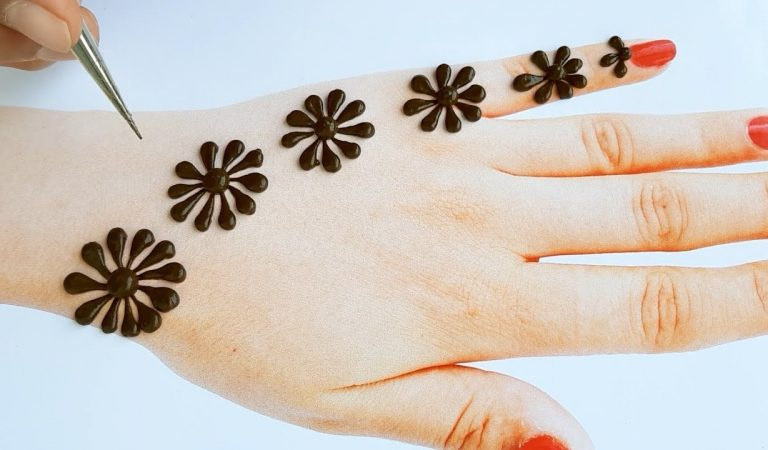 Mehndi designs easy and simple – Back hand mehndi design 2019 – beautiful mehndi design