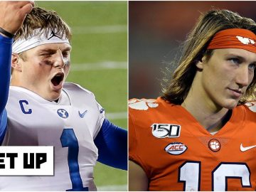 Where do Trevor Lawrence and Zach Wilson rank among QB prospects? | Get Up