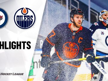 Jets @ Oilers 2/15/21 | NHL Highlights