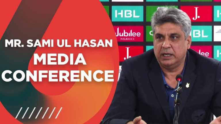 PCB Director Media And Communications Mr. Sami ul Hasan Media Conference At The NSK