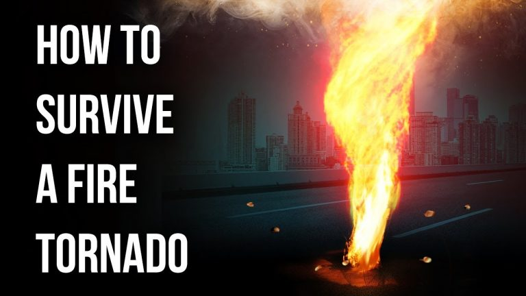What to Do If You're in Fire Tornado Path Suddenly 🔥 1