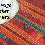 Very Easy Round Neck with Placket // Potli Buttons // Neck Design // Easy cutting and stitching 1