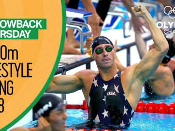 The greatest swimming comeback of all time? | Throwback Thursday