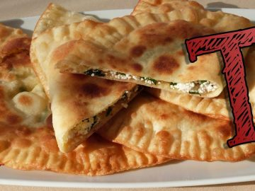 Fried Dough Filled with Cheese Recipe | Turkish Recipes