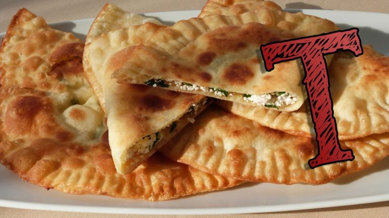 Fried Dough Filled with Cheese Recipe   Turkish Recipes