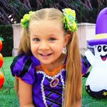 Diana and Roma Funny Halloween stories for kids 1